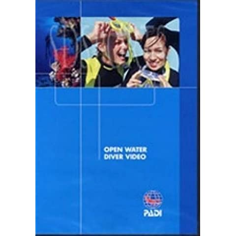 PADI Open Water DVD Training Materials for Scuba Divers by Padi