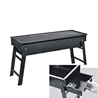 yfkjh Yfkjhoutdoor Grill, Thick Outdoor Oven Grill, Charcoal Grill 60 * 23 * 32Cm/23.6 * 8.6 * 12.6In