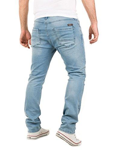 WOTEGA Herren Jeans - Sweathose in Jeansoptik Noah - slim Blau (Blue Shadow 3R4020)