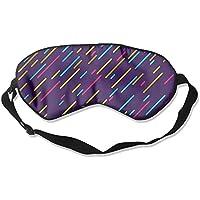 Colorful Lines Sleep Eyes Masks - Comfortable Sleeping Mask Eye Cover For Travelling Night Noon Nap Mediation... preisvergleich bei billige-tabletten.eu