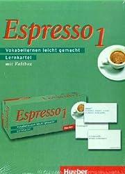 Espresso 1: Vokabellernen leicht gemacht / Lernkartei mit 2 Faltboxen