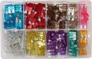 4117ocL OuL._QL70_ bargainbitz 250 x assorted car auto blade fuses 3 40 amp fuse fuse storage box at creativeand.co