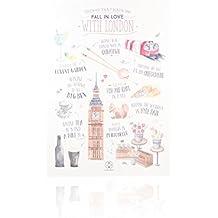 Carcasa viajera iPhone 5 London Lovely Streets LSCAR013