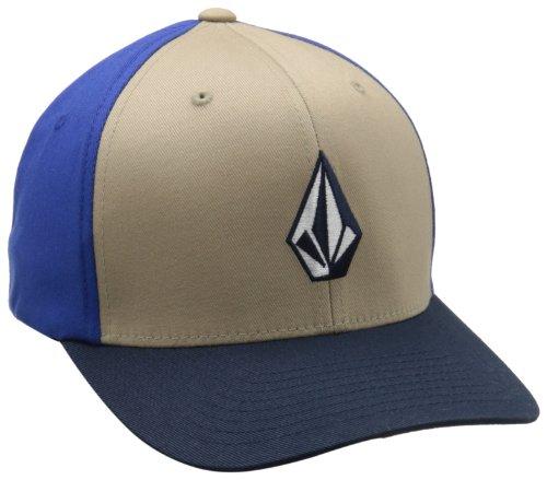 Volcom Herren Full Stone Flexfit Stretch Hat - Beige - Large/X-Large Full-stone-stretch-hut