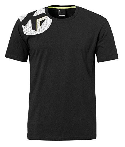 Kempa Erwachsene Core 2.0 T-Shirt Oberbekleidung, Schwarz, XL