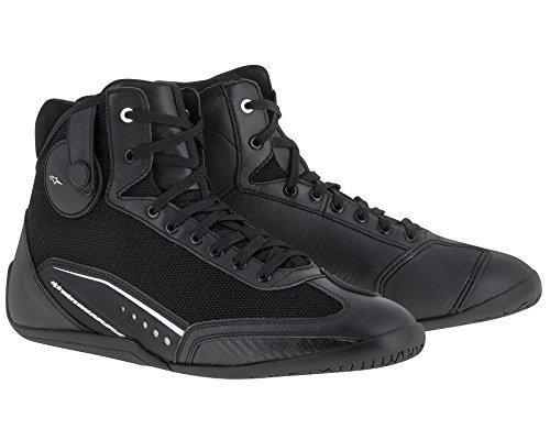 Preisvergleich Produktbild Alpinestars Schuhe AST-1 Motorradschuh Sneaker 3D Mesh schwarz Weiss Größe 44