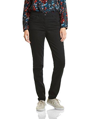 Cecil Damen Janet Tight Fit Hose, Black, 38 /L32 (Herstellergröße: 29)