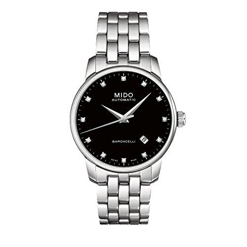 Mido Herren-Armbanduhr XL Baroncelli Analog Automatik Edelstahl M86004681
