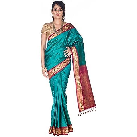Rajarams Ethnic Wear Kanjeevaram Pure Handloom Silk