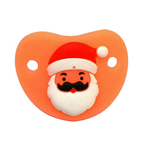 Chupete Infantil Artículo Navidad Chupete Silicona