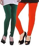 #10: Cotton Lyra Women's Churidaar Leggings - (Pack of Two)