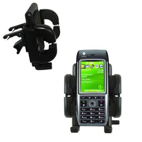 Mit Lüftungsklemme befestigter Cradle-Halter im Fahrzeug / Auto für das HTC MTeoR mit Lebenslange Garantie
