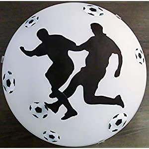 Deckenleuchte/Wandlampe * Fußball 3 * auch LED – mit/ohne Name