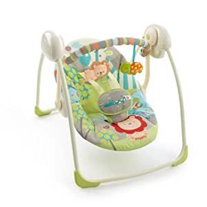 BRIGHT STARTS Up Up & Away Portable Swing - Balancelle