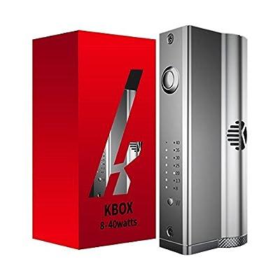 KBox 40W VW BOX MOD von KangerTech, e-Zigarette, Akkuträger, silber von Kanger