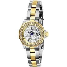 Invicta 28454 Angel Reloj para Mujer acero inoxidable Cuarzo Esfera plata 3f7ec2641fe7