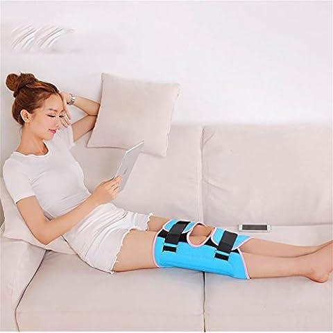 G&M Corrección de piernas Cinturón O-tipo ajustable Piernas X-tipo Piernas Splint Straightener Venda O-tipo X-tipo Piernas Corrector Velcro Correa de la correa de la pierna , blue