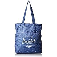 Herschel Packable Travel Tote Limoges Crosshatch/White Polka Dot