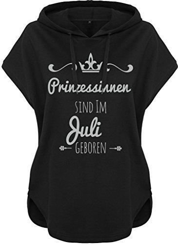 Kawaii à capuche Pull à capuche Femmes femmes Sweat à capuche Princesses être Né Argent noir Juillet