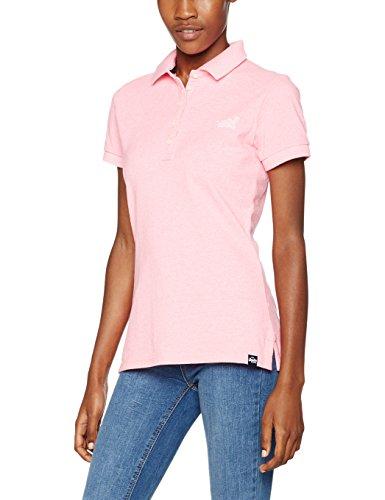 Superdry Damen Poloshirt Classic Rosa (Pastel Pink)