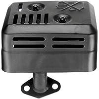 Ajuste del silenciador del sistema de escape para Honda GX120 GX160 GX200 5.5 HP 6.5 HP