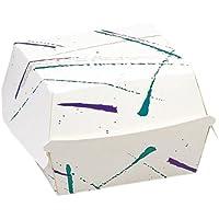 Garcia de Pou 600 Unidad hamburguesa Jumbo en caja, cartón, blanco, ...
