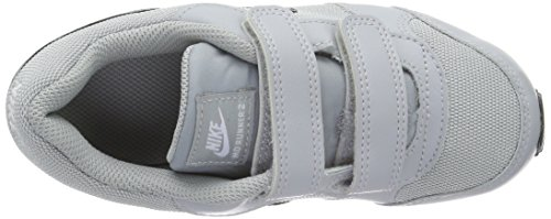 Nike Md Runner 2 (Psv), Chaussures de Running Compétition Garçon Gris (Wolf Grey/Blk/Ttl Crmsn/White)