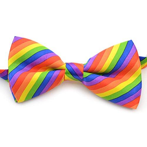 ege Krawatte Strefien Gay Pride Homosexuell Kostüm Unisex (Gay Pride Kostüme)