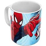 Joy Toy 23638 - Spiderman Keramiktasse 320 ml in Geschenkpackung, 12 x 9 x 10 cm