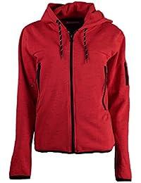 Geographical Norway Sudadera con Cierre Fashionista Rojo S (FR 1)