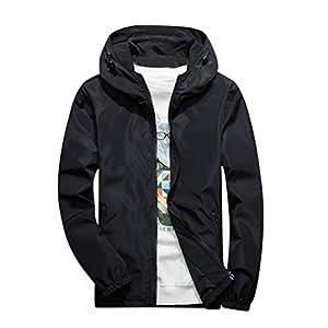 Oasics Sportjacke Herren Herbst und Winter XL lässig einfarbig Hoodie Reißverschluss Outdoor Sportjacke Jacke M-7XL