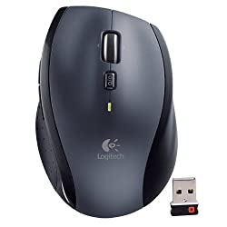 Logitech M705 Marathon 2. 4ghz Wireless 8-button Laser Scroll Mouse Whyper-fast Scrolling & Nano Usb Receiver