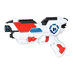 Simba Planet Fighter Space Shooter 108042205 Laser Gun, 23 cm