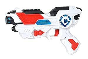 Simba 108042205 - Planet Fighter Space Shooter Laser Pistola, 23 cm