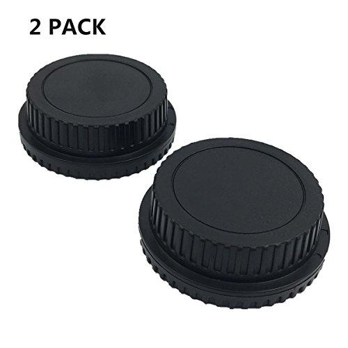 HomyWord 2 Stück Gehäuse und Kamera hinten Len Cover Set für alle Canon EF-S EOS Mark II, III, IV, 7D Mark II D30 D60 10D 20D 20DA 30D - Gehäuse-set