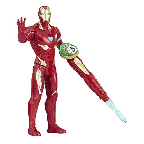 The Avengers- Avengers E1406EL2 War Iron Man con Infinity Stone, Multicolore