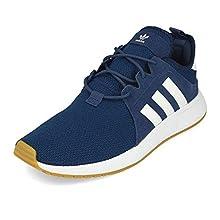 adidas X_PLR, Basket Homme, Tech Indigo/FTWR White/Gum 3, 45 1/3 EU