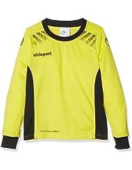 Uhlsport Goal Camiseta de Portero de Manga Larga, Hombre, Amarillo Flúor / Negro, 140