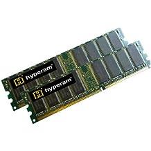Hypertec Hyperam - Módulo de memoria de 2 GB (2 x 1028 MB, DDR1, 333 MHz, PC-2700, CL2.5, sin ECC, 184 pines)