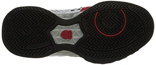 K-Swiss Bigshot Light 2.5 Tennis Shoe (Little Kid/Big Kid) White/Red/Black
