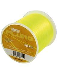 Storm Fluro - Sedal para pesca marina, color amarillo Talla:9 kg