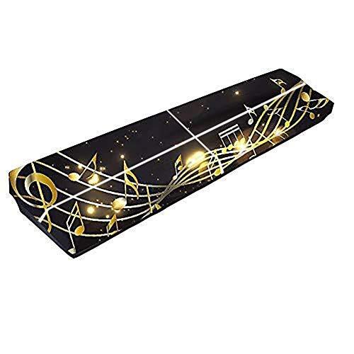 QEES JJZ358 Tastatur-Abdeckung für 61 und 88 Tasten, staubdicht, Klaviertasten-Abdeckung