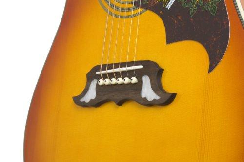 Epiphone EEDVVBNH1 Dove Pro Chitarra Elettroacustica con Fishman SoniTone, Esplosione di Violino