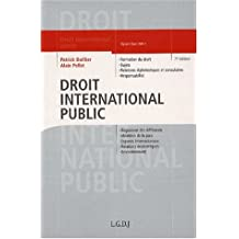Droit international public, 7e édition