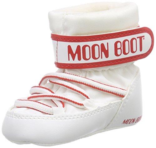 Moon Boot Crib, Scarpe per bambini, Unisex - bambino, Bianco (Bianco), 17/18