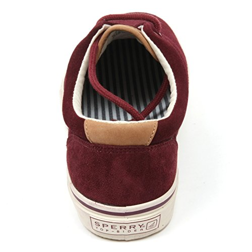 C3624 sneaker uomo SPERRY TOP-SIDER scarpa rosso shoe man for the sea Bordeaux