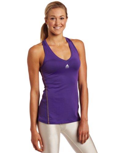 Adidas Damen TechFit Tank, damen, Sharp Purple Preisvergleich