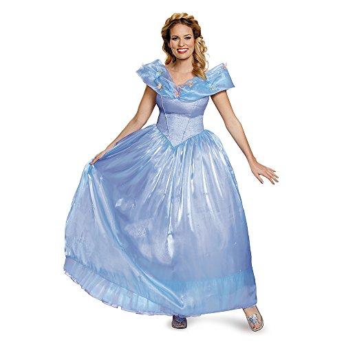 Cinderella Prestige Kostüm - Disney Cinderella Movie Ultra Prestige Adult Costume Small 4-6