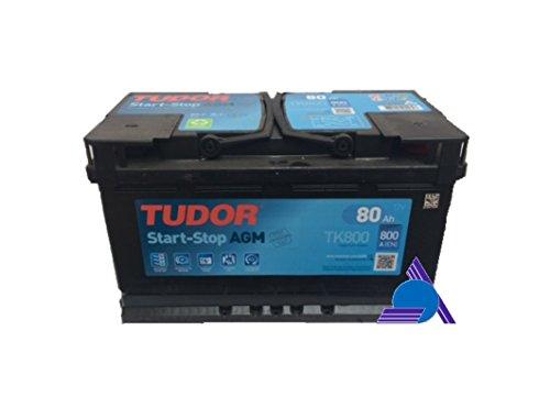 Batteria Tudor 80Ah 800A AGM