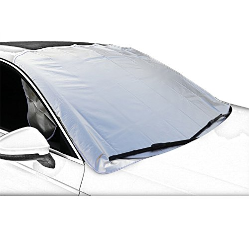 Copri-Parabrezza-Antighiaccio-telo-copriauto-Protezione-Parabrezza-Auto-Ghiaccio-Anti-Gelo-Copertura-per-Parabrezza-Parasole-Adatto-dal-Sole-e-Neve-per-Auto-SUV-Audi-Fiat-Felpato-Polo-Mercedes-Pegeot